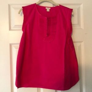 Hot Pink top from J.Crew!